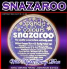 SNAZAROO PROFESSIONAL FACE PAINT SPARKLE LILAC 18ML